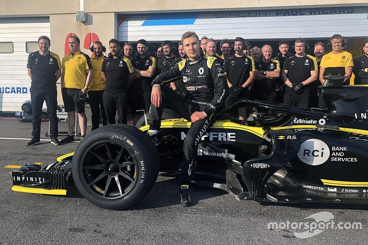 Pirelli tevreden na eerste testdagen met 18 inch banden