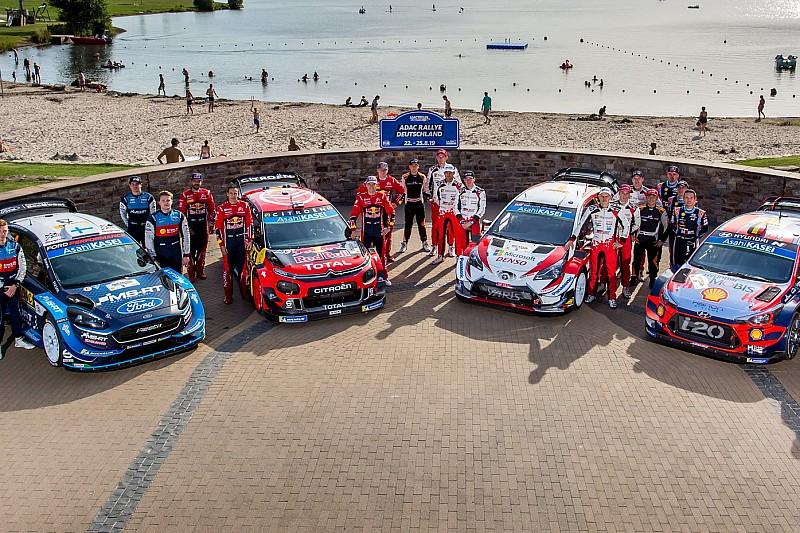В 2022 году машины WRC получат 100-киловаттный электромотор