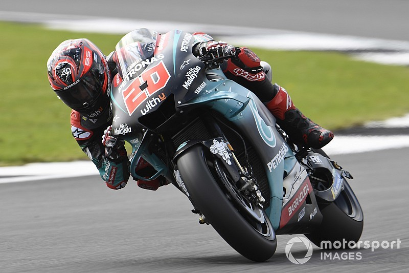 Quartararo nipt voor Rossi in derde training Britse GP