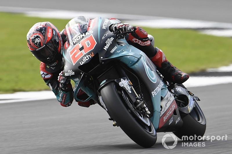 Quartararo vuela en la toma de contacto en Silverstone; Lorenzo, el último