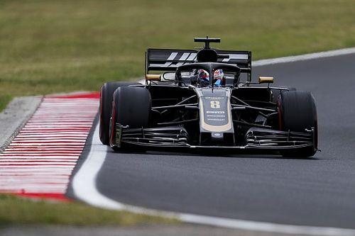 La Haas de Magnussen aime le froid, pas celle de Grosjean