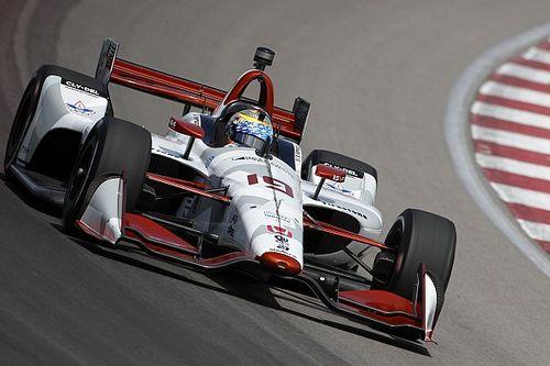 Gateway IndyCar: Rookies star in opening practice