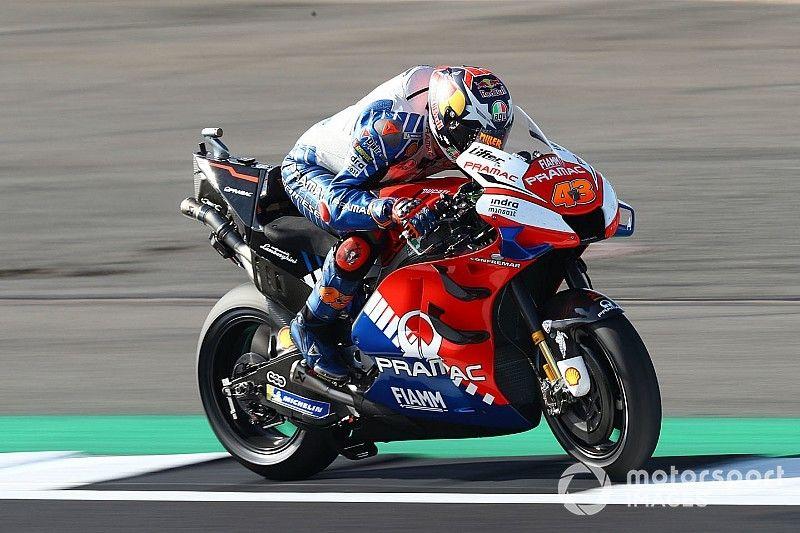 """Miller: sa Ducati telle un """"chopper"""" au départ de la course!"""