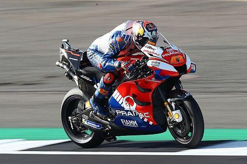 "Miller's Ducati felt like ""chopper"" at British GP start"
