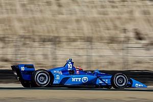 Laguna Seca IndyCar: Rosenqvist leads Saturday practice