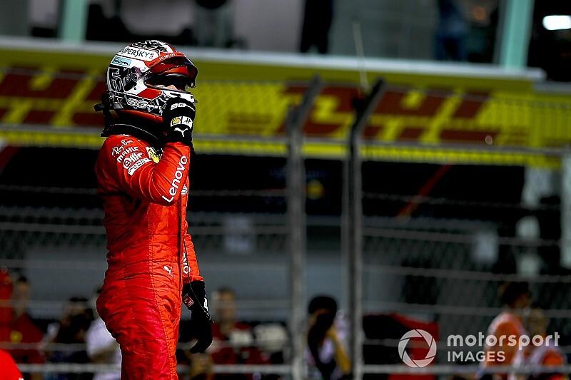 Singapore GP: Leclerc beats Hamilton to pole by 0.191s