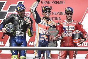 Rossi sur le podium pour la 1re fois depuis le Sachsenring 2018 !