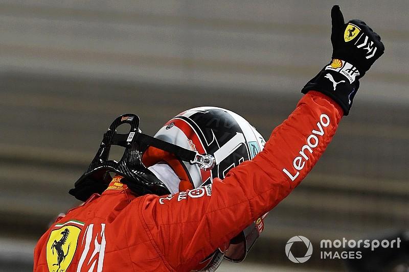 """Leclerc: el primer podio en la F1 """"con suerte en una situación desafortunada"""""""