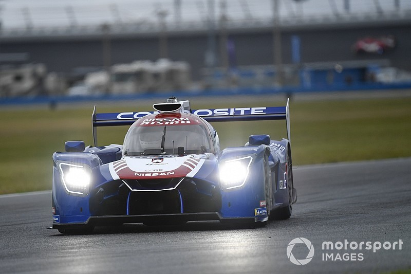 Rolex 24: CORE Nissan fastest in night practice