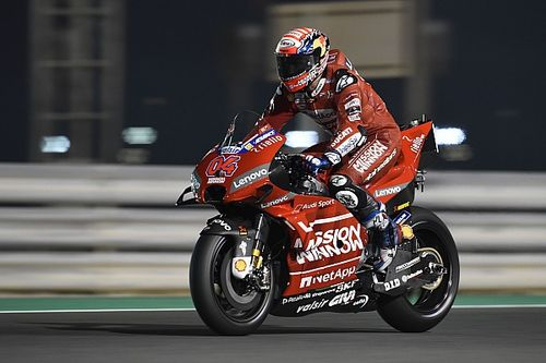 "Dovizioso: Every bike strong in ""strange"" Qatar test"