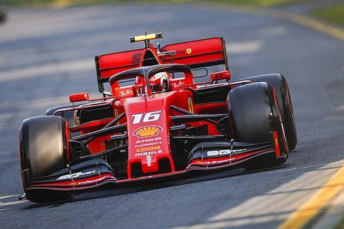 """Leclerc : """"L'équipe nous a demandé de garder les positions"""""""