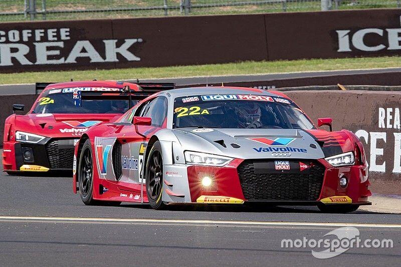 Bortolotti e Drudi nel Team Valvoline di Audi a Bathurst