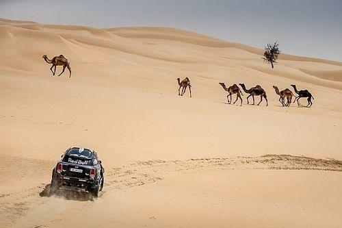 Sunderland y los Peterhansel se lucen en el Abu Dhabi Desert Challenge