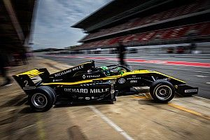 Caio Collet fecha semana de treinos para Fórmula Renault Eurocup