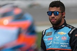 Bubba Wallace kicks off redesign of Roval's backstretch chicane