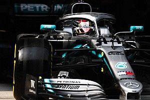 """Hamilton: """"Plus difficilede travailler"""" avec la Mercedes 2019"""