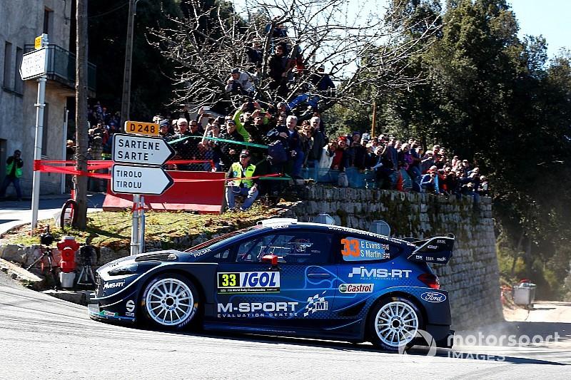 WRC Corsica, PS4: Evans vola e torna in testa alla gara! Ogier supera Lappi