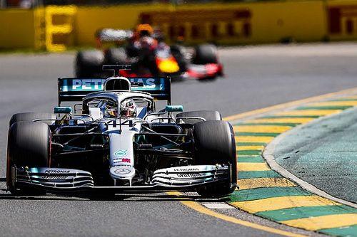 Mercedes domineert in tweede training Australië, Verstappen op P3