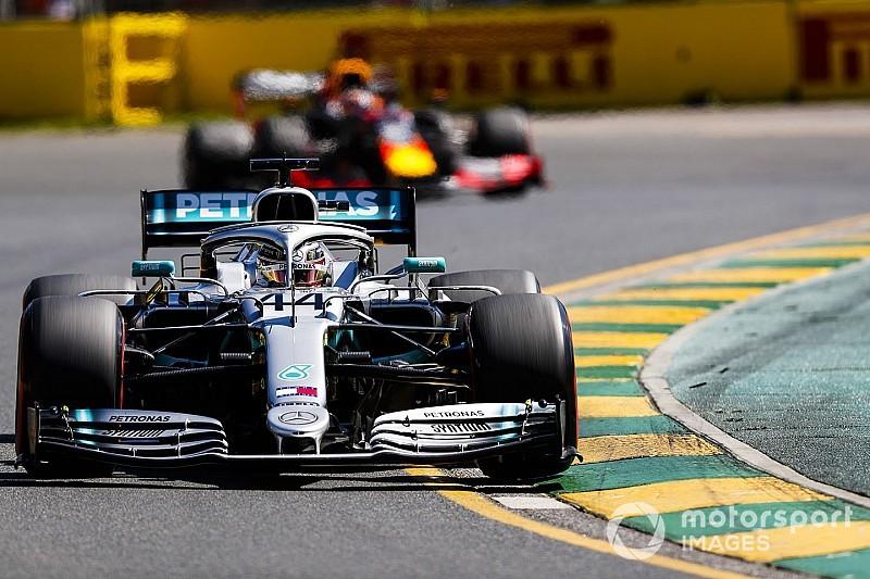 F1オーストラリアFP2:フェルスタッペンが3番手タイム! ハミルトンは貫禄の首位