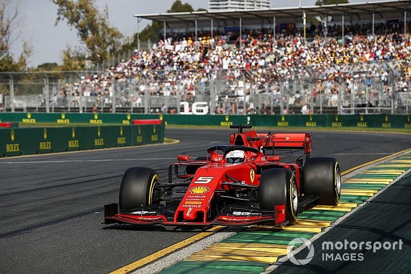 Vettel culpa pneus e absolve motor da Ferrari na Austrália