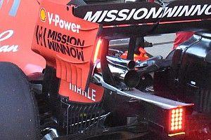 Ferrari модифицировала выхлопную систему SF90