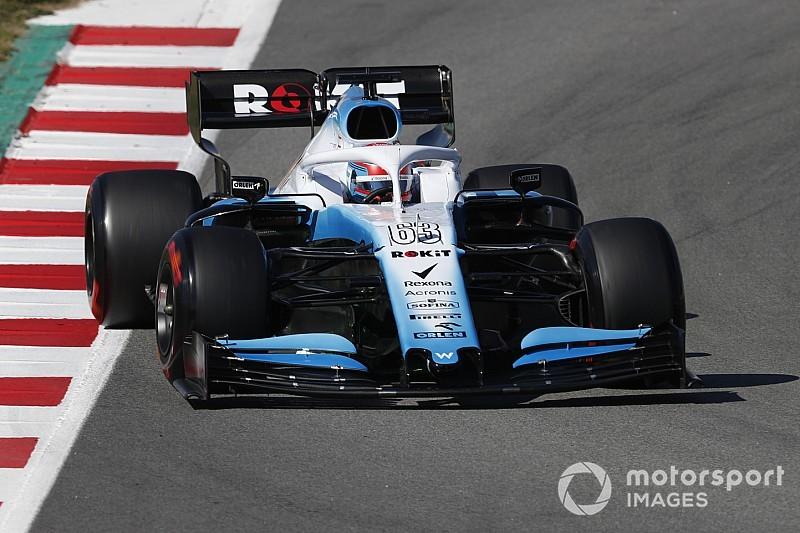 Russell festeja confiabilidade da Williams em teste da Fórmula 1