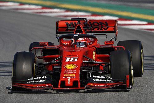 Tes F1 Barcelona II: Leclerc dan Ferrari kembali di puncak