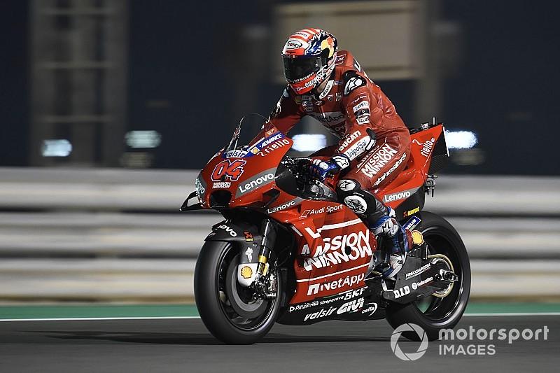 """Dovizioso: """"Puede ser indicativo que Márquez hiciera la mejor velocidad punta"""""""