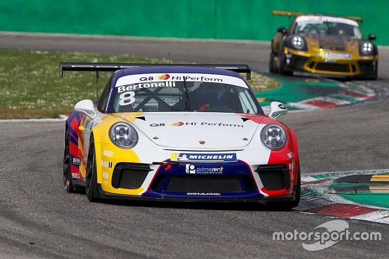 Carrera Cup Italia, Monza: Bertonelli guida la doppietta Dinamic in gara 1