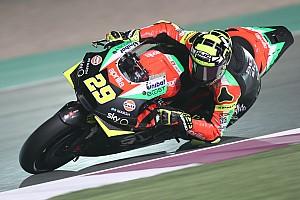Iannone: Aprilia ainda não extrai todo potencial da moto