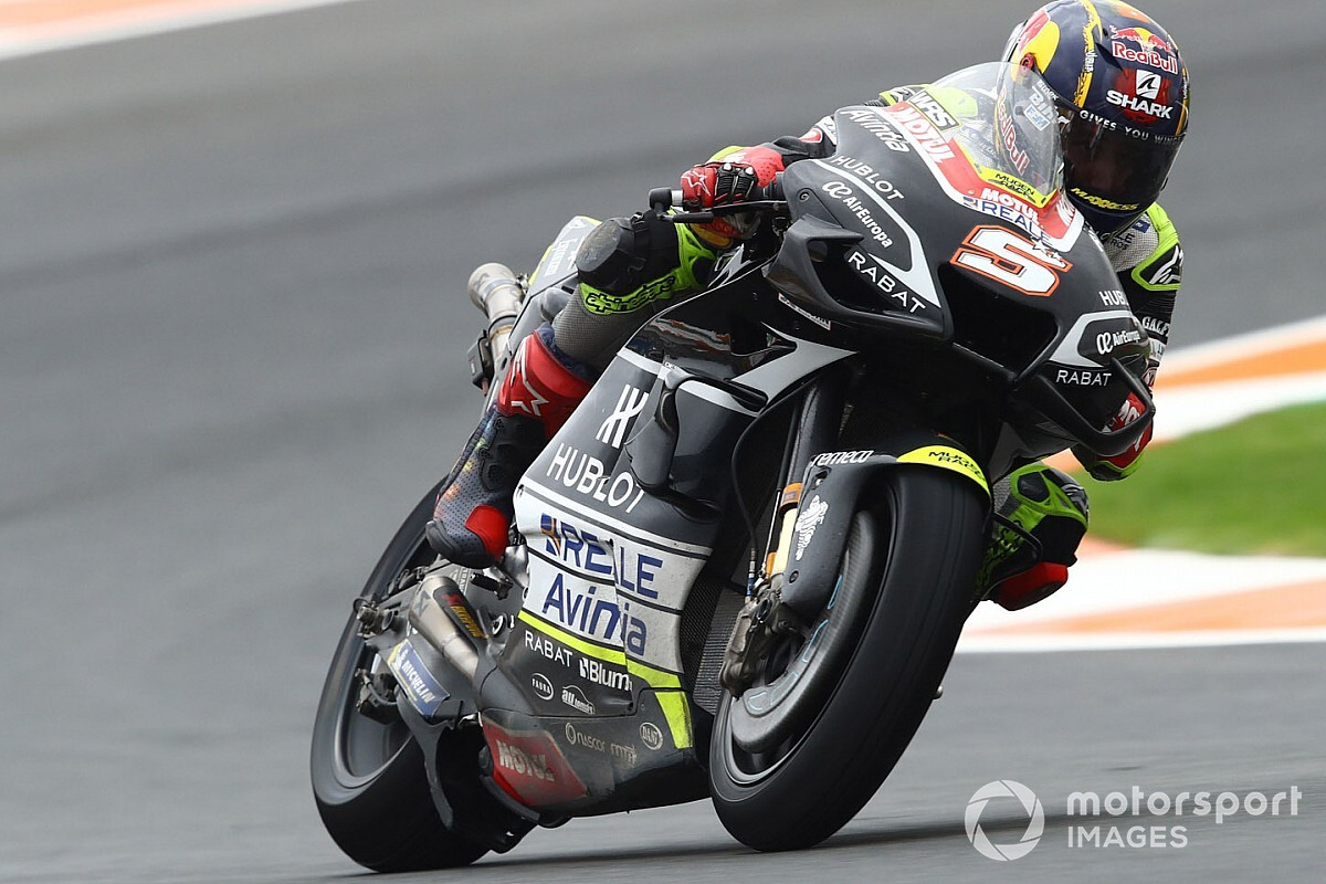 European MotoGP: Zarco tops wet FP3 as Rossi returns