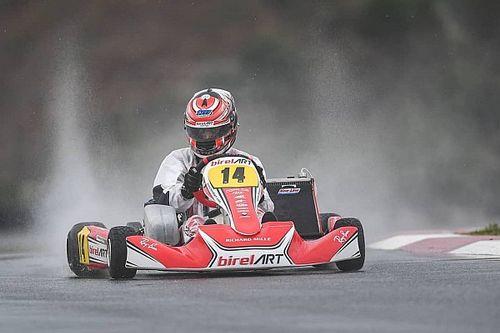 Matheus Morgatto encerra participação no Mundial de Kart com pole e 3 top-5