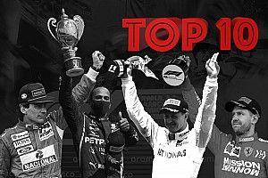 GALERÍA: Top 10 de pilotos con más podios en F1