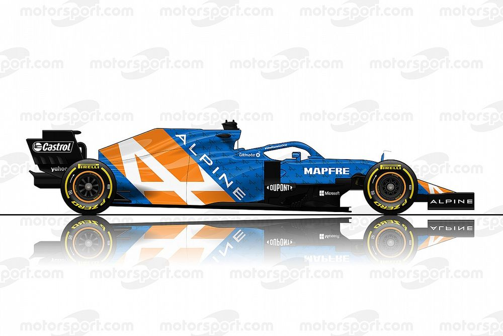 Renault no niega la posibilidad de pasar a llamarse Alpine F1