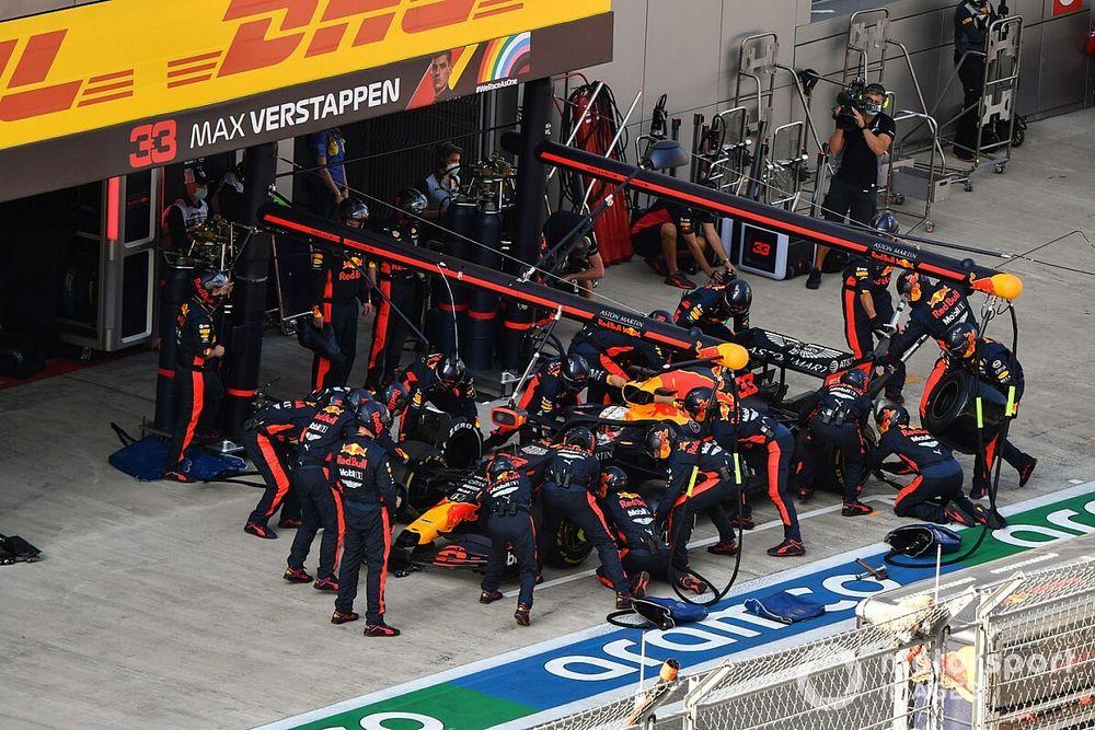 Red Bull Racing Raja Pit Stop