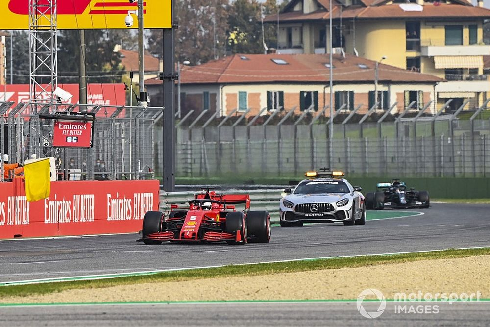 Masi responds to Vettel's remarks on safety car rules