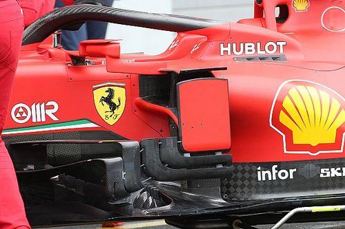 Технический брифинг: новые дефлекторы Ferrari SF1000 для Айфельского Гран При