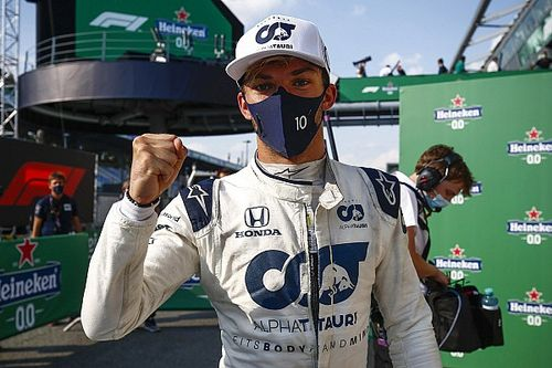 Italian GP: Gasly takes shock maiden win after Hamilton penalty