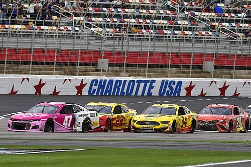 What time and channel is the NASCAR race at the Charlotte Roval