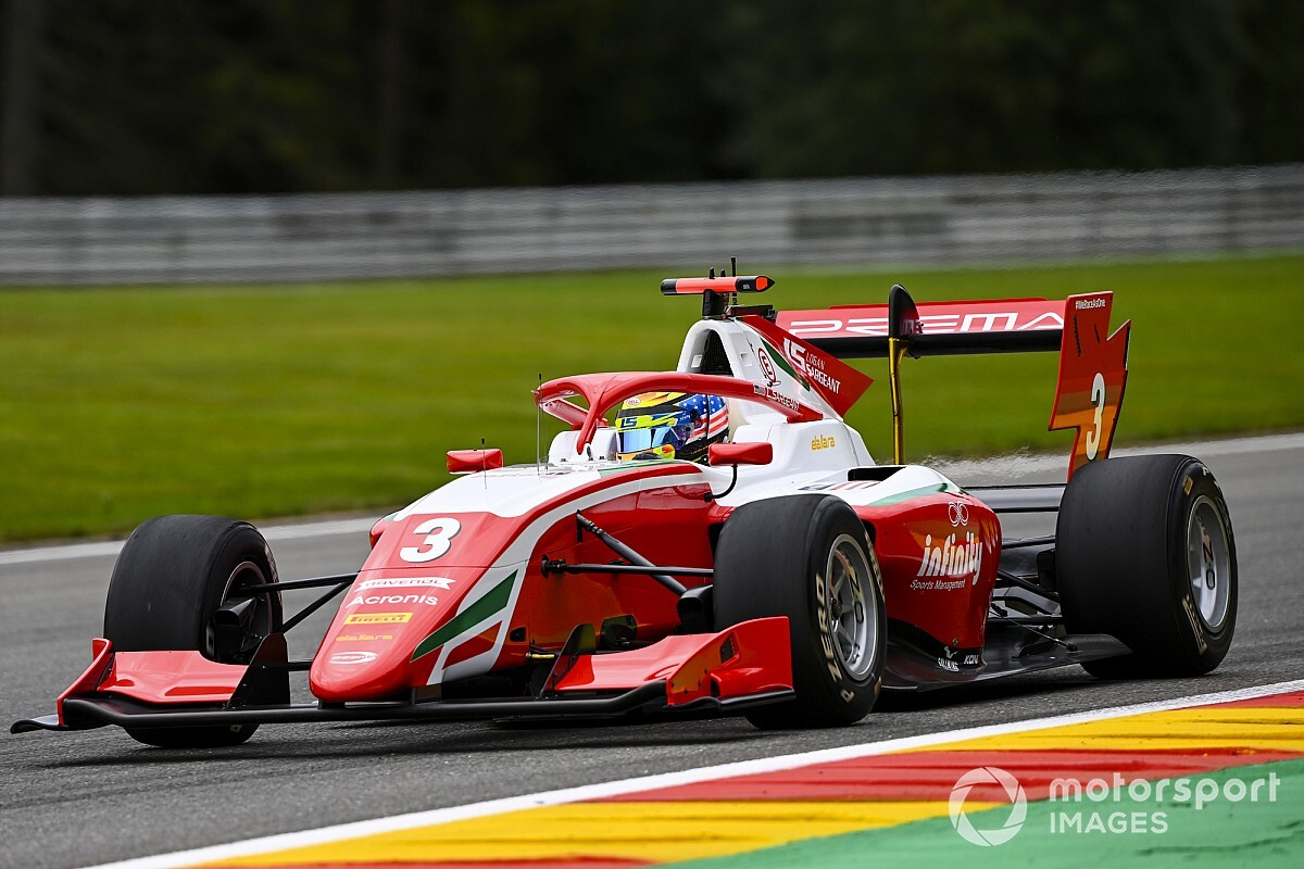 F3, Spa-Francorchamps, Gara 2: la riscossa di Sargeant