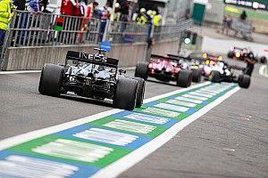 La parrilla de salida del GP de Bélgica de F1 2020