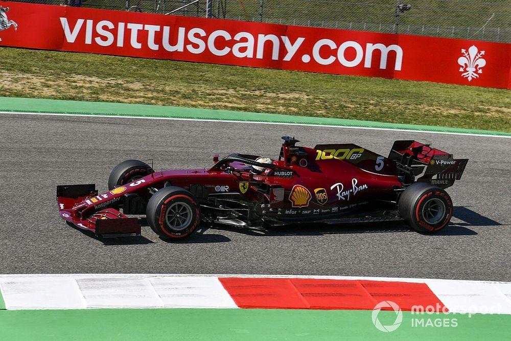 """Vettel: """"Non riesco a guidare la Ferrari come vorrei"""""""