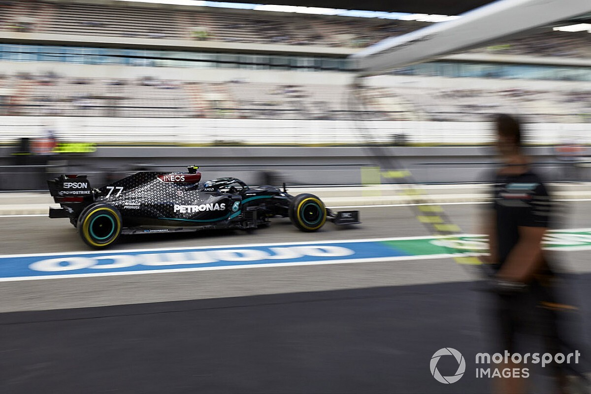 2020 F1 Portuguese GP Friday practice results