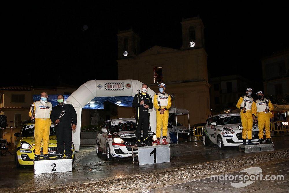 Targa Florio: Schileo vince il terzo round del Suzuki Rally Cup