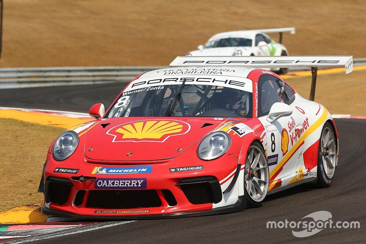 Shell celebra pole de Zonta e Neugebauer e vê Dennis Dirani cravar o recorde de Porsche no Velocitta