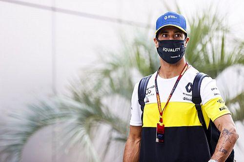 Ricciardo spanikował z powodu testu