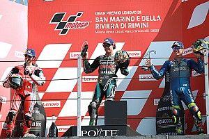Misano MotoGP: Morbidelli bags maiden win, Quartararo retires