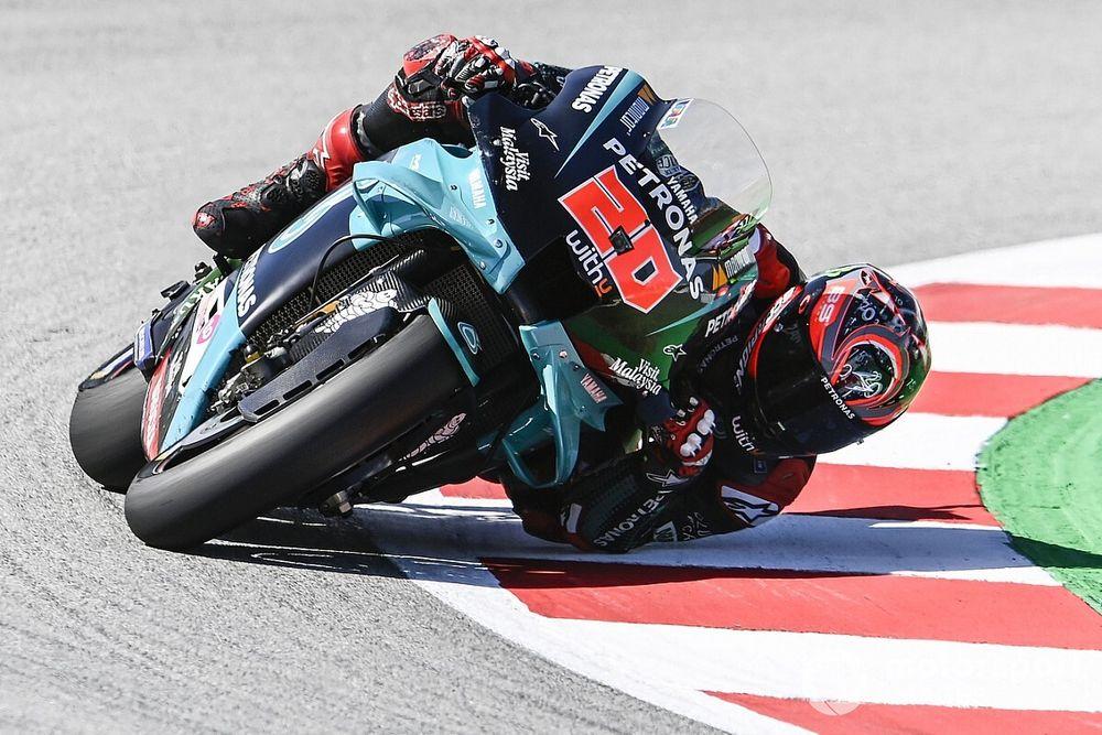 MotoGP, Barcellona, Libere 3: Quartararo al top, Dovizioso in Q1