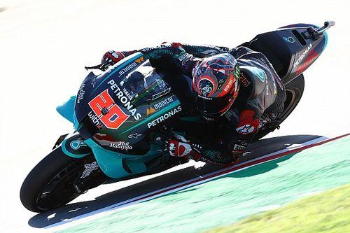 MotoGP Barcelona FT1: Yamaha und Suzuki stark, Bestzeit von Quartararo