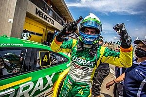 Stock Car: No Velocitta, Campos celebra primeira pole da temporada